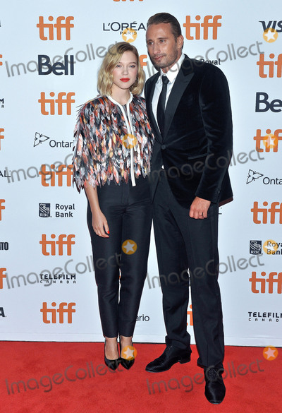 Lea Seydoux Photo - 06 September 2018 - Toronto Ontario Canada - Lea Seydoux and Matthias Schoenaerts Kursk Premiere - 2018 Toronto International Film Festival held at Princess of Wales Theatre Photo Credit Brent PerniacAdMedia