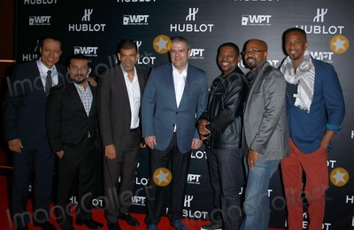 Inny Clemons Photo - 17 December 2014 - Nashville TN -  Yancey Arias Jacob Vargas Guest Ricardo Guadalupe Mekhi Phifer Inny Clemons J August Richards  Hublot and World Poker Touch announce partnership and unveil the new limited-edition Hublot Poker Bang Timepiece at Hyde Bellagio  Photo Credit MJTAdMedia