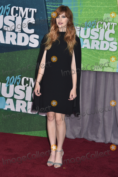 Aubrey Peeples Photo - 10 June 2015 - Nashville Tennessee - Aubrey Peeples 2015 CMT Music Awards held at Bridgestone Arena Photo Credit Laura FarrAdMedia