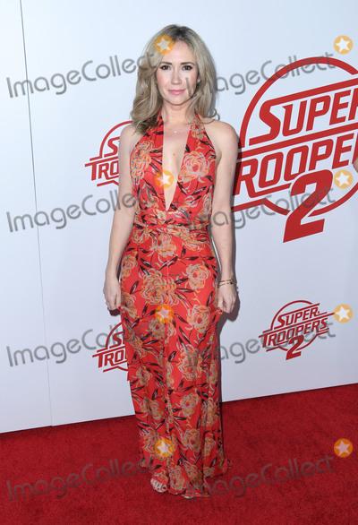 Ashley Jones Photo - 11 April 2018 - Hollywood California - Ashley Jones Super Troopers 2 Los Angeles Premiere held at Arclight Hollywood Photo Credit Birdie ThompsonAdMedia