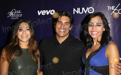 Nina Terrero Photo - 18 February 2014 - Los Angeles California - Gina Rodriguez Michael Catherwood Nina Terrero NUVOtvs Spring Launch Premiere Party Featuring Talent From The Collective Powered By Vevo And Nu Point Of View Held at Siren Studios Photo Credit FSadouAdMedia