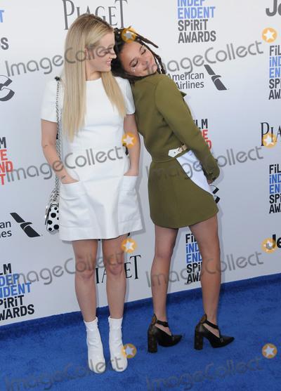 Sasha Lane Photo - 25 February 2017 - Santa Monica California - Riley Keough Sasha Lane 2017 Film Independent Spirit Awards held held at the Santa Monica Pier Photo Credit Birdie ThompsonAdMedia