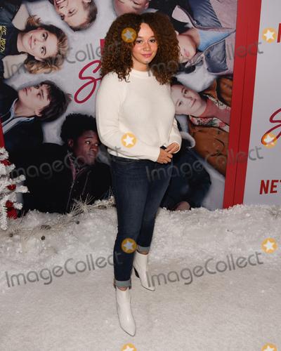 Talia Jackson Photo - 04 November 2019 - Los Angeles California - Talia Jackson Netflixs Let It Snow Los Angeles Premiere held at Pacific Theatres at The Grove Photo Credit Billy BennightAdMedia