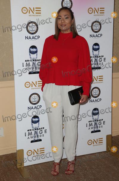 Angela Jollivette Photo - 16 December 2017 - Beverly Hills California - Angela Jollivette 49th NAACP Image Awards Nominees Luncheon Photo Credit F SadouAdMedia