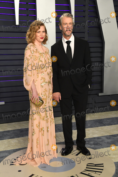 Mireille Enos Photo - 24 February 2019 - Los Angeles California - Alan Ruck Mireille Enos 2019 Vanity Fair Oscar Party following the 91st Academy Awards held at the Wallis Annenberg Center for the Performing Arts Photo Credit Birdie ThompsonAdMedia