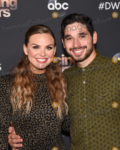 Alan Bersten Photo - 04 November 2019 - Los Angeles California - Hannah Brown Alan Bersten Dancing With The Stars Season 28 Top Six Finalists event held at Dominque Ansel at The Grove Photo Credit Billy BennightAdMedia
