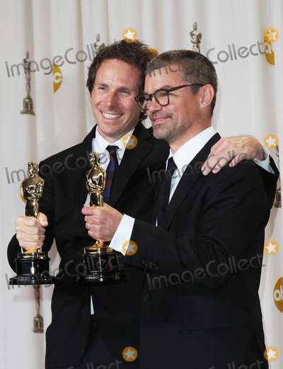 Angus Wall Photo - 26 February 2012 - Hollywood California - Kirk Baxter and Angus Wall 84th Annual Academy Awards held at the Hollywood  Highland Center Photo Credit James Orken StarlitepicsAdMedia