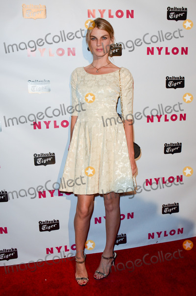 Angela Lindvall Photo - 14 May 2013 - Hollywood California - Angela Lindvall NYLON And Onitsuka Tiger Celebrate The Annual May Young Hollywood Issue at The Roosevelt Hotel Photo Credit Tonya WiseAdMedia