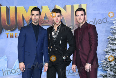 Jonas Brothers Photo - 09 December 2019 - Hollywood California - The Jonas Brothers Joe Jonas Nick Jonas Kevin Jonas Jumanji The Next Level Los Angeles Premiere  held at TCL Chinese Theatre Photo Credit Birdie ThompsonAdMedia