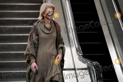 alaska Photo - Sen Lisa Murkowski (R-Alaska) is seen leaving the Capitol during a brief recess in the second day of the impeachment trial of former President Donald Trump on Wednesday February 10 2021Credit Greg Nash - Pool via CNPAdMedia
