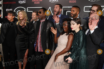 Michael Greene Photo - 20 April 2017 - Los Angeles California - Neil Gaiman Betty Gilpin Crispin Glover Orlando Jones Pablo Schreiber Ricky Whittle Yetide Badaki Emily Browning Bryan Fuller and Michael Green American Gods Los Angeles Premiere held at The Cinerama Dome Theatre Photo Credit AdMedia