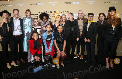 Ash Thapliyal Photo - 13 January 2020 - Los Angeles California - Bert Matt Newman Allison Janney McKenna Grace Viola Davis Milan Ray Kai Ture Lucy Alibar Jennifer Salke Jim Gaffigan Ash Thapliyal Julie Rapaport Bertie The Premiere Of Amazon Studios Troop Zero held at the Pacific Theatres at The Grove Photo Credit FSAdMedia