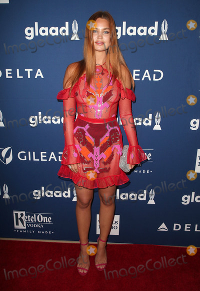 Jennifer Akerman Photo - 13 April 2018 - Beverly Hills California - Jennifer Akerman 29th Annual GLAAD Media Awards at The Beverly Hilton Hotel Photo Credit F SadouAdMedia