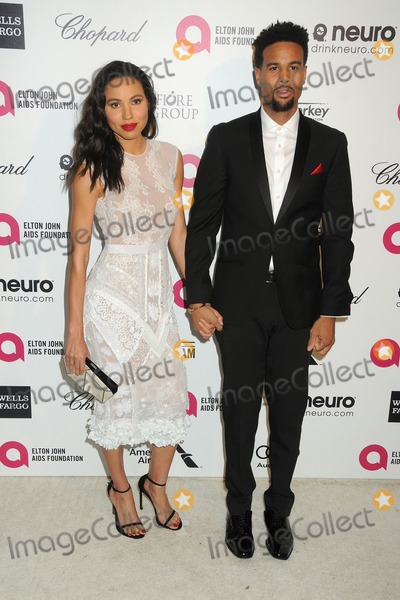 Josiah Bell Photo - 22 February 2015 - West Hollywood California - Jurnee Smollett-Bell Josiah Bell 23rd Annual Elton John Oscar Viewing Party held at West Hollywood Park Photo Credit Byron PurvisAdMedia