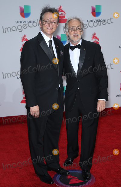Neil Portnow Photo - 16 November 2017 - Las Vegas NV -  Gabriel Abaroa Neil Portnow  2017 Latin Grammy arrivals at MGM Grand Garden Arena Photo Credit MJTAdMedia