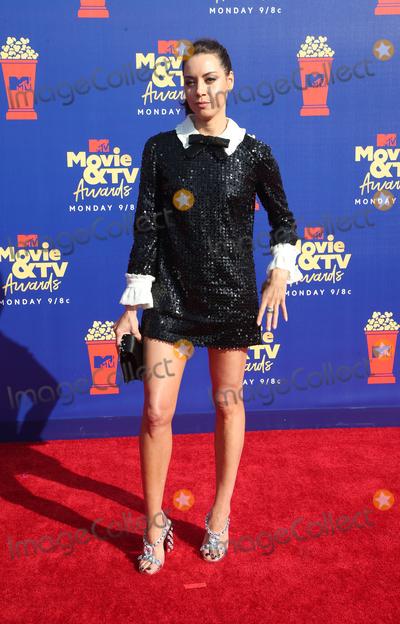 Aubrey Plaza Photo - 15 June 2019 - Santa Monica California - Aubrey Plaza 2019 MTV Movie And TV Awards  held at Barker Hangar Photo Credit Faye SadouAdMedia