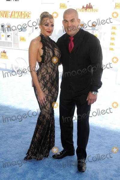 Amber Nicole Photo - 12 April 2015 - Los Angeles California - Amber Nicole Miller Tito Ortiz 2015 MTV Movie Awards - Arrivals held at Nokia Theatre LA Live Photo Credit Byron PurvisAdMedia