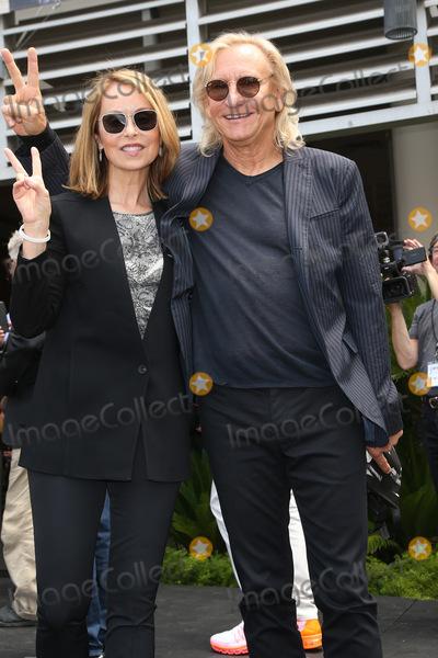 Joe Walsh Photo - 07 July 2015 - Hollywood California - Ringo Starr attends his 75th birthday fan gathering at Capitol Records Photo Credit F SadouAdMedia