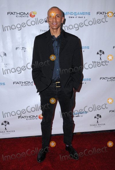 Andrew Goth Photo - 26 March 2017 - Los Angeles California - Andrew Goth  Fathom Events And Terra Mater Film Studios Premiere Event For MindGamers One Thousand Minds Connected Live held at Regal Cinemas at LA Live in Los Angeles Photo Credit Birdie ThompsonAdMedia