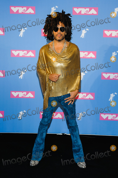 Lenny Kravitz Photo - 20 August 2018 - New York New York - Lenny Kravitz 2018 MTV Video Music Awards at Radio City Music Hall Photo Credit Mario SantoroAdMedia