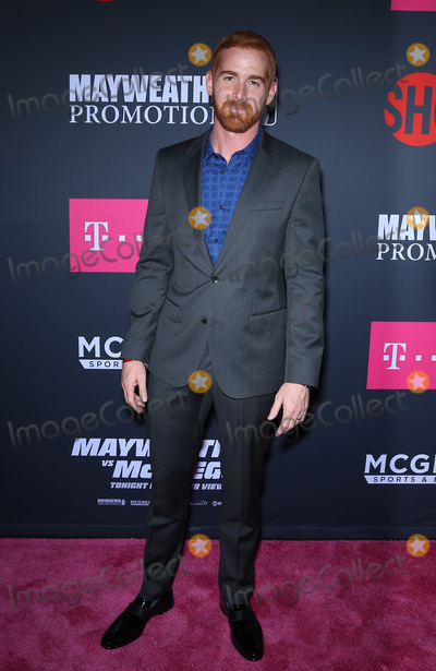 Andrew Santino Photo - 26 August 2017 - Las Vegas NV -  Andrew Santino  Mayweather vs McGregor pre-fight VIP Red Carpet at T-Mobile Arena Credit mjtAdMedia