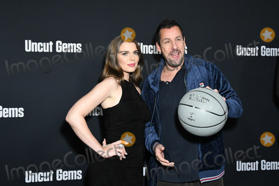 Adam Sandler Photo - 11 December 2019 - Hollywood California - Julia Fox Adam Sandler A24s Uncut Gems Los Angeles Premiere held at The Dome at Arclight Hollywood Photo Credit Birdie ThompsonAdMedia