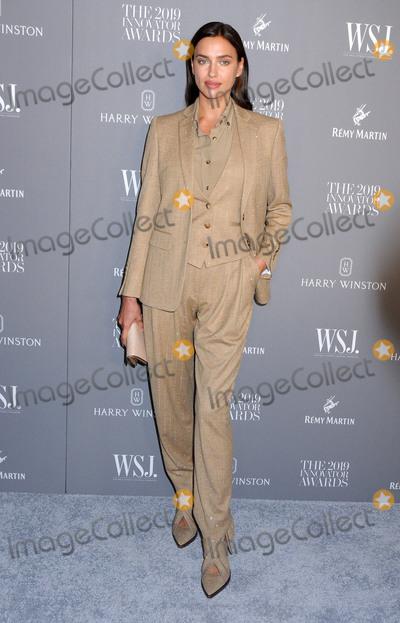 Irina Shayk Photo - November 6 2019 - New York New York - Irina Shayk WSJ Magazine 2019 Innovator Awards Sponsored By Harry Winston And Remy Martin held at  MOMA Photo Credit AdMedia