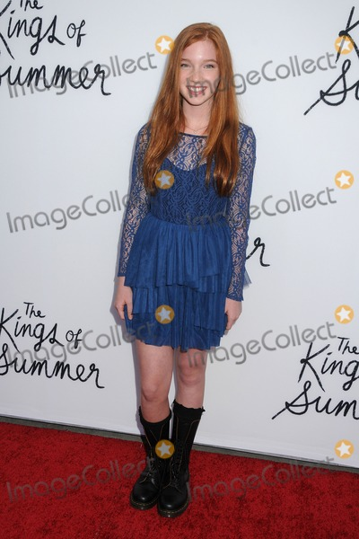 Annalise Basso Photo - 28 May 2013 - Hollywood California - Annalise Basso The Kings Of Summer Los Angeles Premiere held at Arclight Cinemas Photo Credit Byron PurvisAdMedia