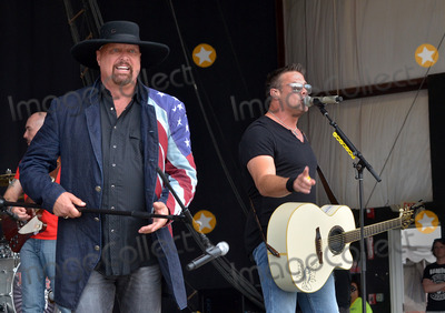 Troy Gentry Photo - 20 July 2014 - Morristown OH - Country music group MONTGOMERY GENTRY (L to R Eddie Montgomery and Troy Gentry) headline Day 4 of the 38th Annual Jamboree In The Hills 2014 also known as the Super Bowl of Country Music  Photo Credit Jason L NelsonAdMedia