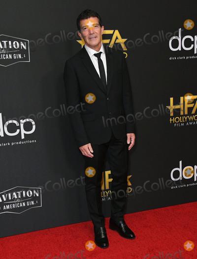 Antonio Banderas Photo - 03 November 2019 - Beverly Hills California - Antonio Banderas 23rd Annual Hollywood Film Awards held at Beverly Hilton Hotel Photo Credit Birdie ThompsonAdMedia