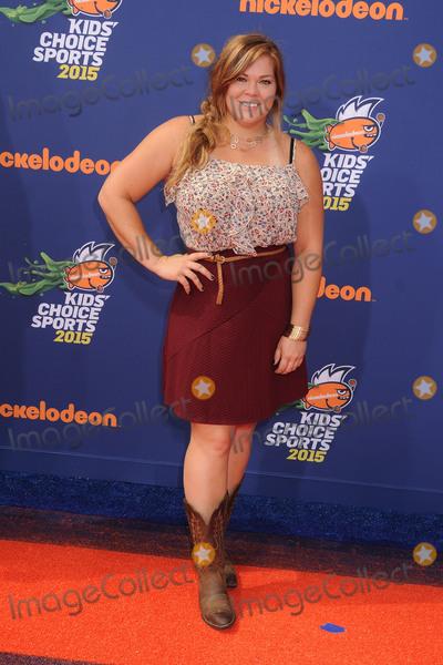 Amanda Bingson Photo - 16 July 2015 - Westwood California - Amanda Bingson Nickelodeon Kids Choice Sports Awards 2015 held at the UCLA Pauley Pavilion Photo Credit Byron PurvisAdMedia
