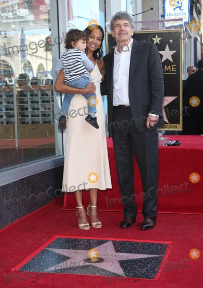 Alan Horn Photo - 03 May 2018 - Hollywood California - Zoe Saldana Alan Horn Bowie Ezio Perego-Saldana Zoe Saldana Honored With A Star On The Hollywood Walk Of Fame Photo Credit F SadouAdMedia