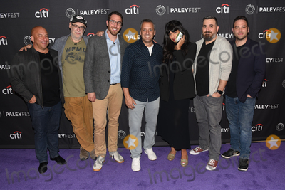 Jameela Jamil Photo - 13 September 2019 - Beverly Hills California - (L-R) Michael Bloom Andy Breckman Joe Gatto Jameela Jamil Brian Quinn and Ben Newmark The Misery Index at The Paley Center For Medias 13th Annual PaleyFest Fall TV Previews - TBS Photo Credit Billy BennightAdMedia