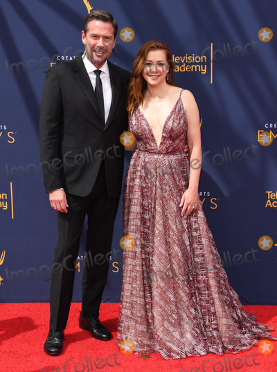 Allison Hannigan Photo - 08 September 2018 - Los Angeles California - Alexis Denisof Allison Hannigan 2018 Creative Arts Emmys Awards - Arrivals held at Microsoft Theater Photo Credit Birdie ThompsonAdMedia