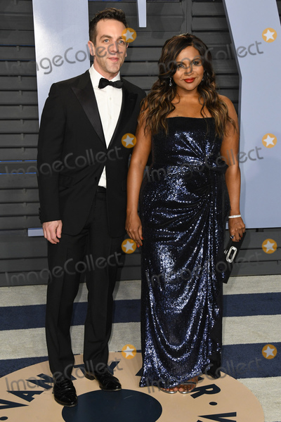 Bj Novak Photo - 04 March 2018 - Los Angeles California - Mindy Kaling BJ Novak 2018 Vanity Fair Oscar Party following the 90th Academy Awards held at the Wallis Annenberg Center for the Performing Arts Photo Credit Birdie ThompsonAdMedia