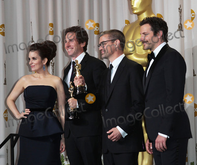 Angus Wall Photo - 26 February 2012 - Hollywood California - Tina Fey Bradley Cooper Kirk Baxter and Angus Wall 84th Annual Academy Awards held at the Hollywood  Highland Center Photo Credit James Orken StarlitepicsAdMedia