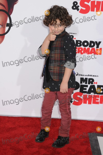 August Maturo Photo - 5 March 2014 - Westwood California - August Maturo Mr Peabody  Sherman Los Angeles Premiere held at the Regency Village Theatre Photo Credit Byron PurvisAdMedia
