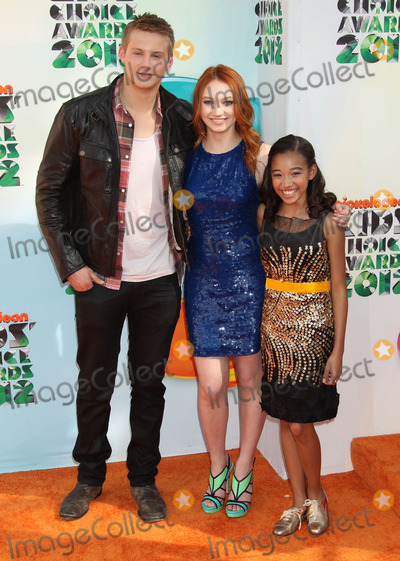 Amandla Stenberg Photo - 31 March 2012 - Los Angeles California - Alexander Ludwig Jacqueline Emerson and Amandla Stenberg 2012 Nickelodeon Kids Choice Awards held at the Galen Center Photo Credit Russ ElliotAdMedia