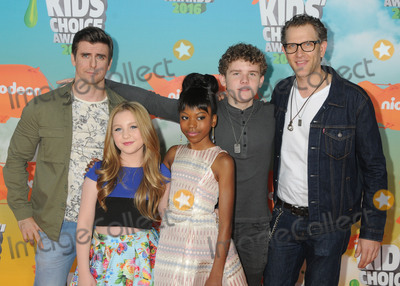 Ella Anderson Photo - 12 March 2016 - Inglewood California - Cooper Barnes Ella Anderson Riele Downs Sean Ryan Fox Jeffrey Brown 2016 Nickelodeon Kids Choice Awards held at The Forum Photo Credit Byron PurvisAdMedia