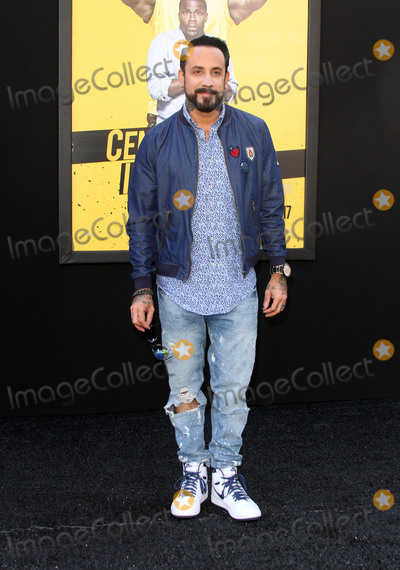 AJ McLean Photo - 10 June 2016 - Los Angeles California - AJ McLean Central Intelligence Los Angeles Premiere held at Westwood Village Theatre Photo Credit AdMedia