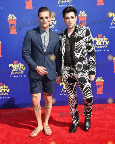 Nico Photo - 15 June 2019 - Santa Monica California - Nico Tortorella Manny MUA 2019 MTV Movie and TV Awards held at Barker Hangar Photo Credit Birdie ThompsonAdMedia
