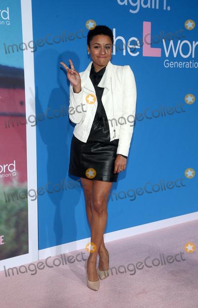 Ariana Debose Photo - 2 December 2019 - Los Angeles California - Ariana Debose Premiere Of Showtimes The L Word Generation Q held at Regal LA Live Photo Credit FSAdMedia