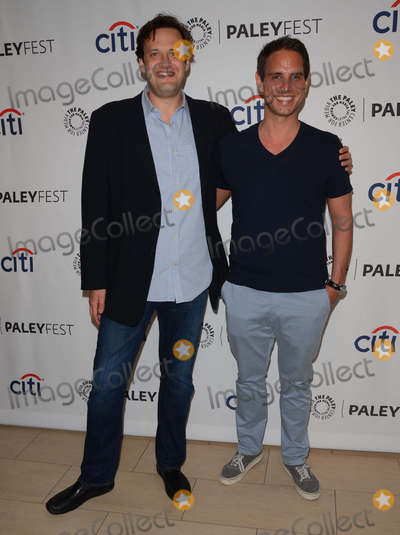Andrew Kreisberg Photo - 06 September 2014 - Beverly Hills California - Andrew Kreisberg Greg Berlanti The 2014 Paleyfest Fall TV Previews for CWs The Flash and Jane the Virgin held at  The Paley Center for Media in Beverly Hills Ca Photo Credit Birdie ThompsonAdMedia