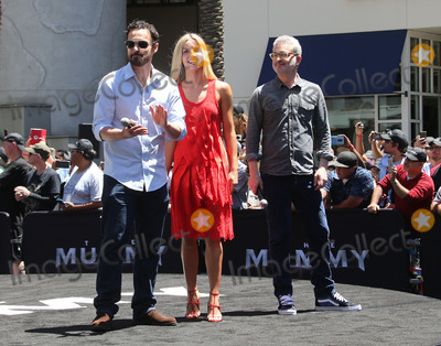 Alex Kurtzman Photo - 20 May 2017 - Hollywood California - Jake Johnson Annabelle Wallis Alex Kurtzman Universal Celebrates The Mummy Day With 75-Foot Sarcophagus Takeover At Hollywood And Highland Photo Credit F SadouAdMedia
