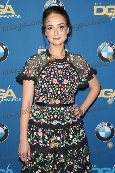 Milana Vayntrub Photo - 03 February 2018 - Beverly Hills California - Milana Vayntrub 70th Annual Directors Guild Of America Awards held at the Beverly Hilton Photo Credit F SadouAdMedia