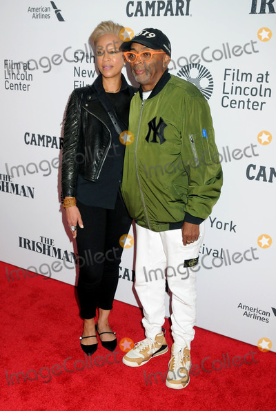 Tonya Lewis Photo - 27 September 2019 - New York New York - Tonya Lewis Lee Spike Lee The Irishman 57th New York Film Festival held at Alice Tully Hall Lincoln Center Photo Credit AdMedia