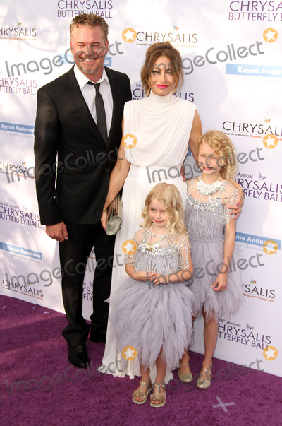 Eric Dane Photo - 3 June 2017 - Los Angeles California - Eric Dane wife Rebecca Gayheart-Dane with daughters Billie Beatrice Dane and Georgia Dane 16th Annual Chrysalis Butterfly Ball held at a Private Residence Photo Credit AdMedia