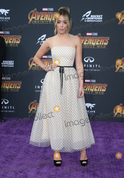 Chloe Bennet Photo - 23 April 2018 - Hollywood California - Chloe Bennet Disney and Marvels Avengers Infinity War Los Angeles Premiere held at Dolby Theater Photo Credit F SadouAdMedia