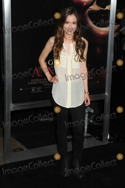 Hayley McFarland Photo - 29 September 2014 - Hollywood California - Hayley McFarland Annabelle Los Angeles Special Screening held at the TCL Chinese Theatre Photo Credit Byron PurvisAdMedia