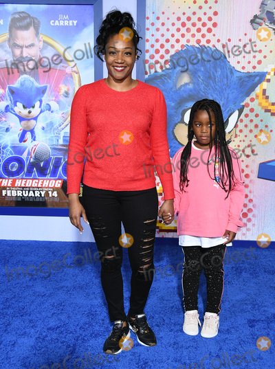 Tiffany Haddish Photo - 12 February 2020 - Los Angeles California - Tiffany Haddish Sonic the Hedgehog Los Angeles Premiere held at the Regency Village Theater Photo Credit Birdie ThompsonAdMedia